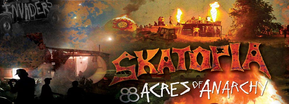 Scenes from Skatopia: 88 Acres of Anarchy